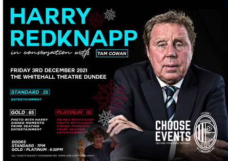 Harry Redknapp in Conversation with Tam Cowan