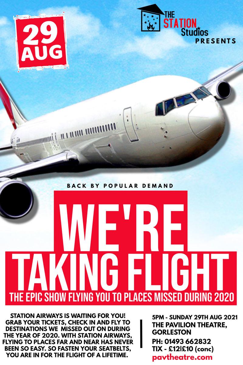 We're Taking Flight