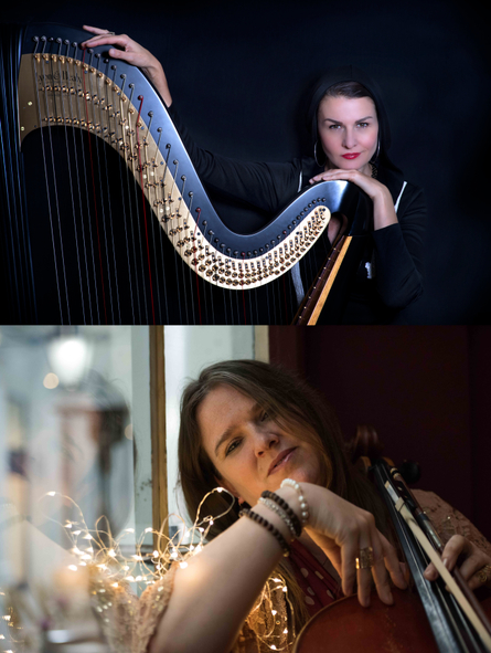 Alina Hip Harp + Shirley Smart Trio