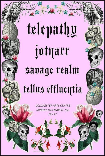 Telepathy + Jotnarr + Savage Realm + Tellus Effluentia