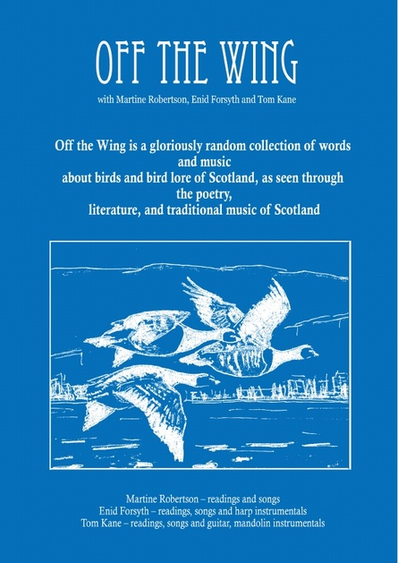 Off the Wing - Wigtown Book Festival