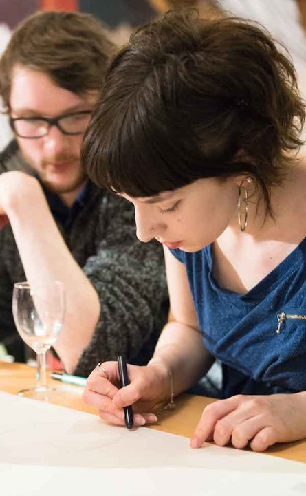 Ink & Drink with Angela Harding