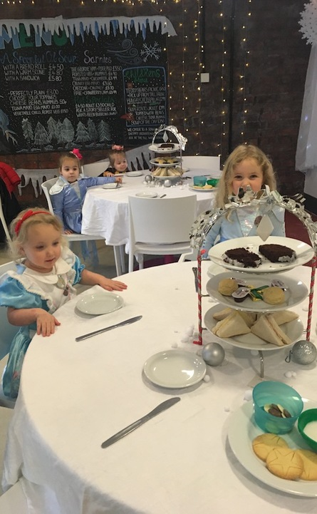 Afternoon Tea with the Snow Queen