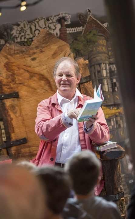 Send a Story Campaign Launch with special guest, author Michael Morpurgo