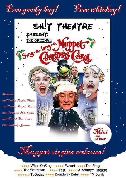 Sh!t Theatre's Sing-a-long-a-Muppet Christmas Carol