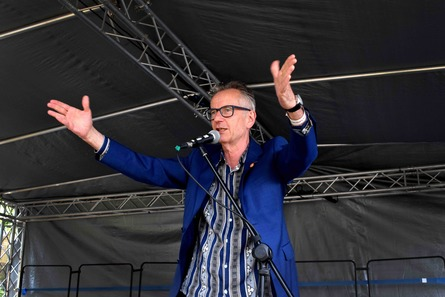 Fish & Ships: A Poetry Workshop with John Hegley