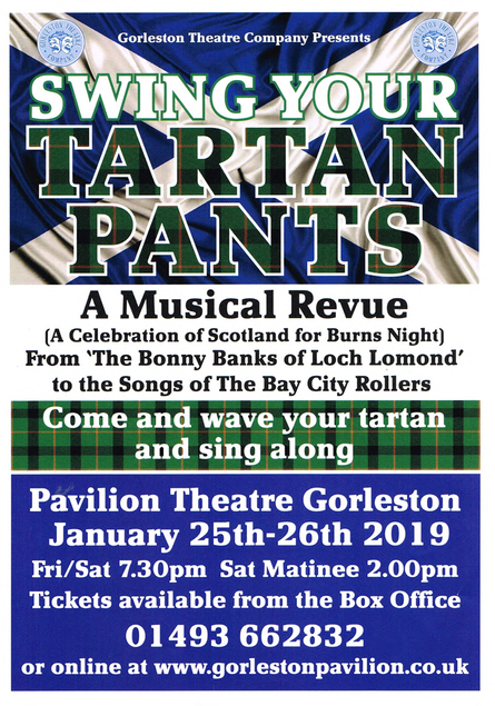 Swing Your Tartan Pants